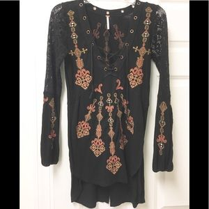 Gorgeous Free People boho tunic!  🧡